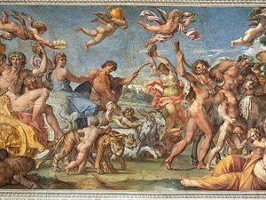 Annibale Carracci-Il trionfo di Bacco