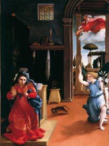 Lorenzo Lotto-Annunciazione