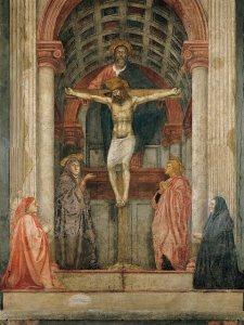Masaccio-La Trinità