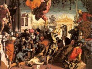 Tintoretto-Il miracolo dello schiavo