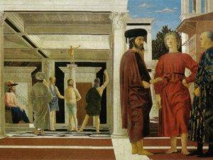 Piero della Francesca-La Flagellazione di Cristo