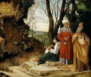 Giorgione-i tre filosofi