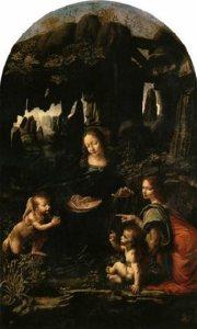 Leonardo da Vinci-La Vergine delle Rocce