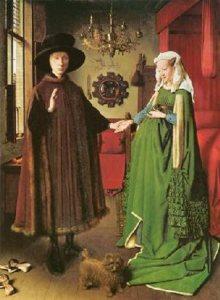 Jan van Eyck-I coniugi Arnolfini