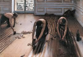 Gustave Caillebotte, I piallatori di parquet