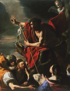 Mattia Preti, Predica di San Giovanni Battista