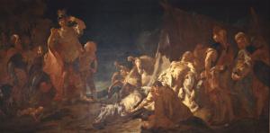 Giovan Battista Piazzetta Morte di Dario
