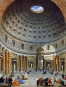 Pannini Interno del Pantheon