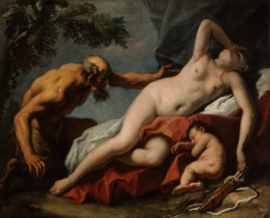 Sebastiano Ricci Venere e Satiro