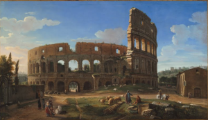 Van Wittel Veduta del Colosseo