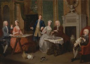 William Hogarth Ritratto di Famiglia